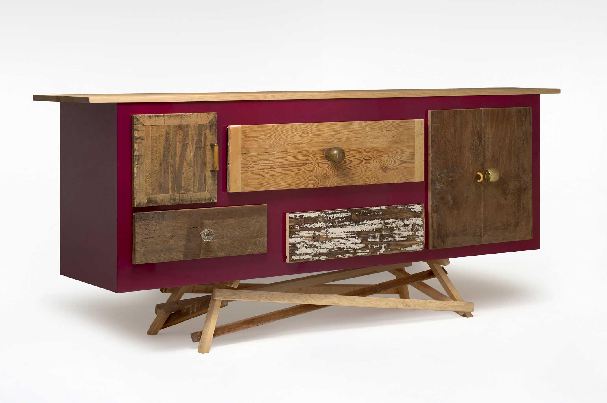 Credenza Con Legno Di Recupero : Credenze laccate: legno di recupero e colore laquercia21