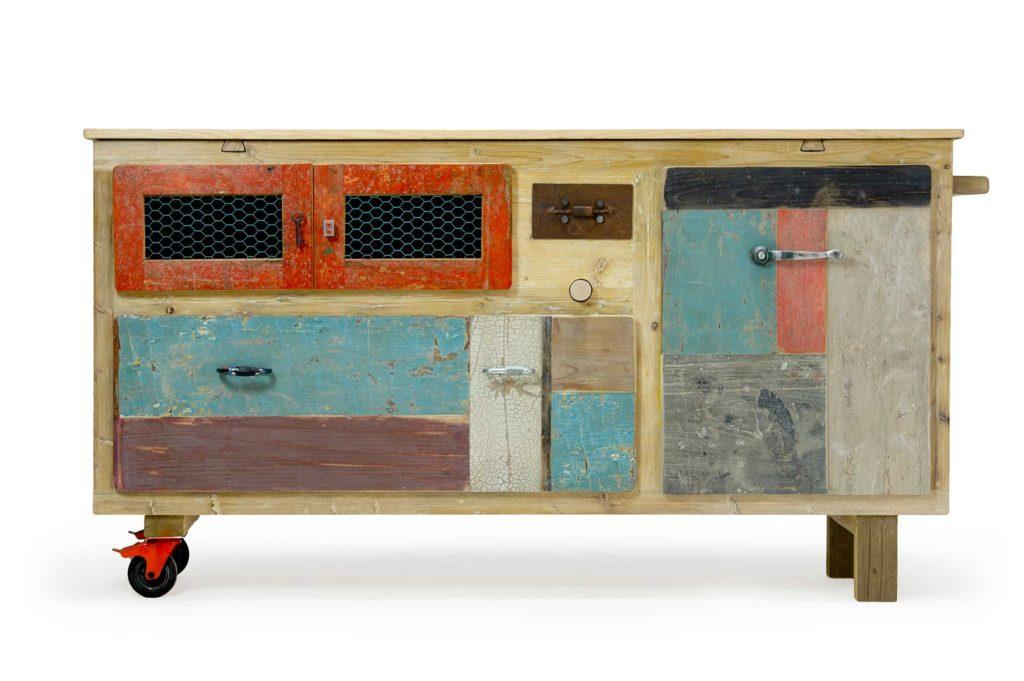 Credenza Bassa Moderna Usata : Credenze da cucina: legno moderne industrial laquercia21