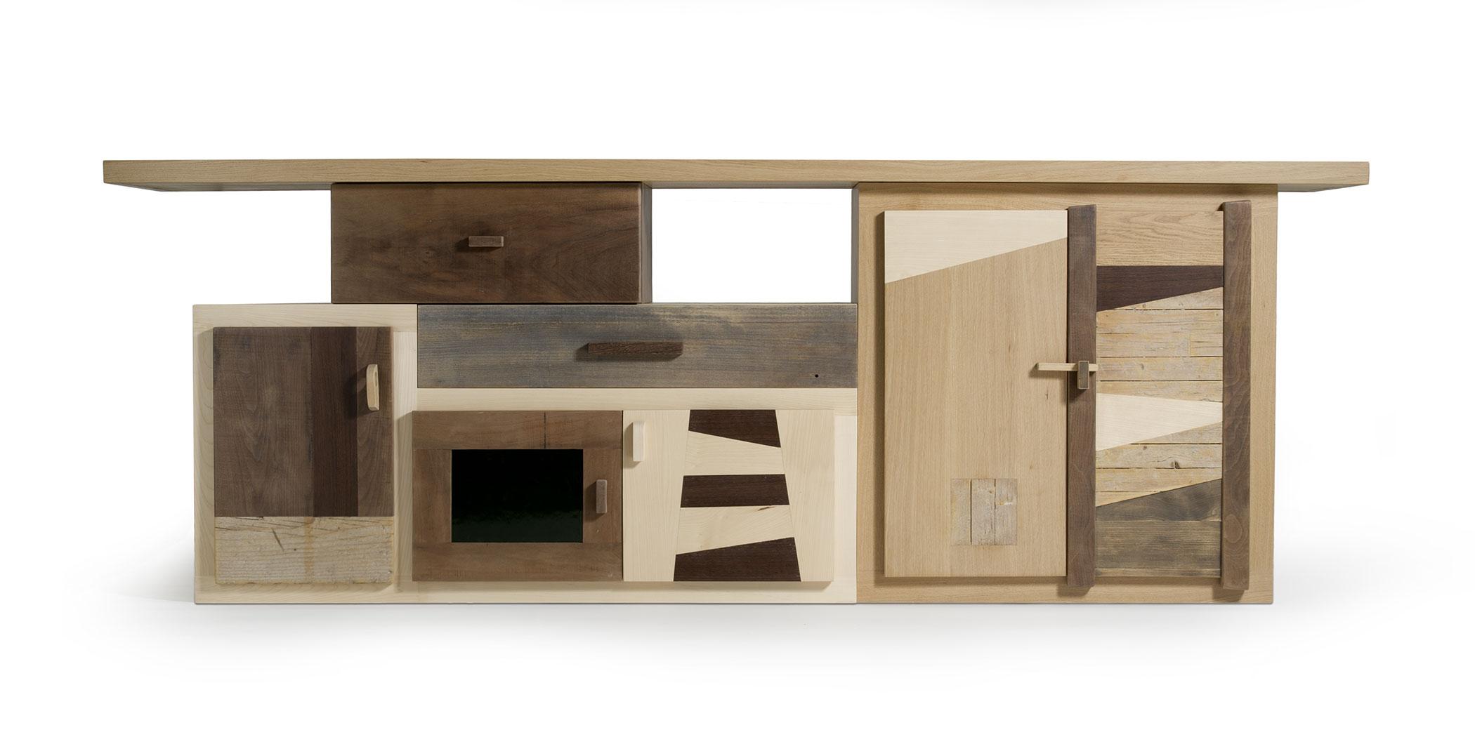 Credenze in legno massello artigianali | Laquercia21