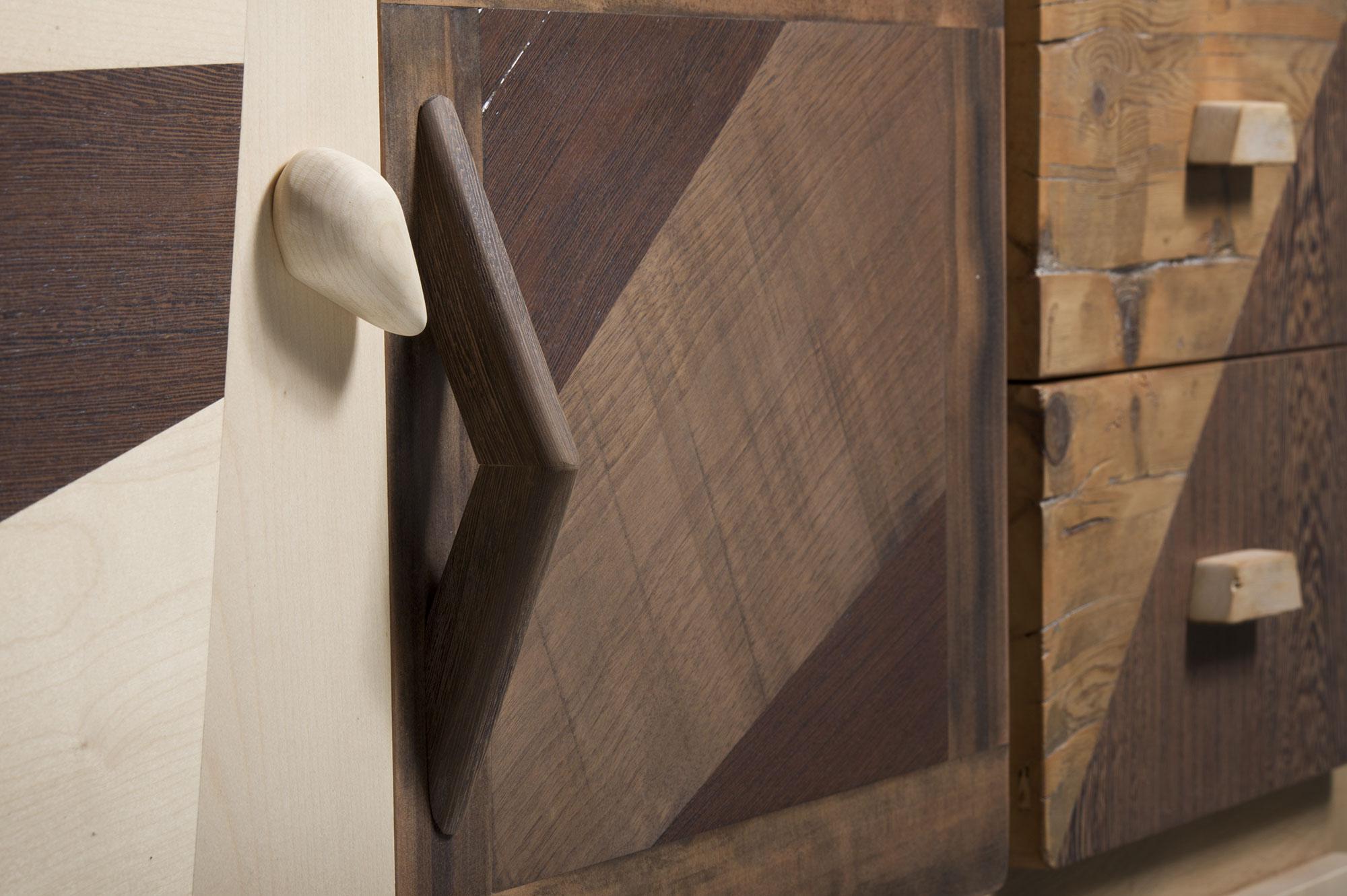 Pomelli di design. Madie e credenze moderne in legno su misura de Laquercia21
