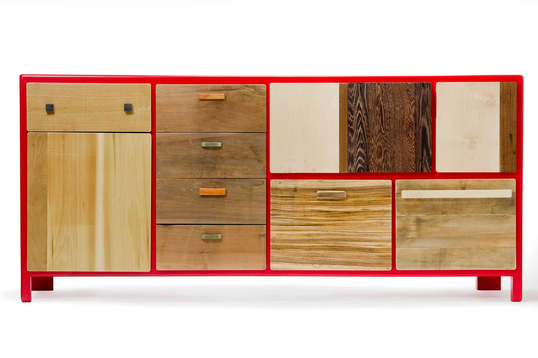 Credenza Legno Per Esterno : Credenze in legno massello su misura laquercia