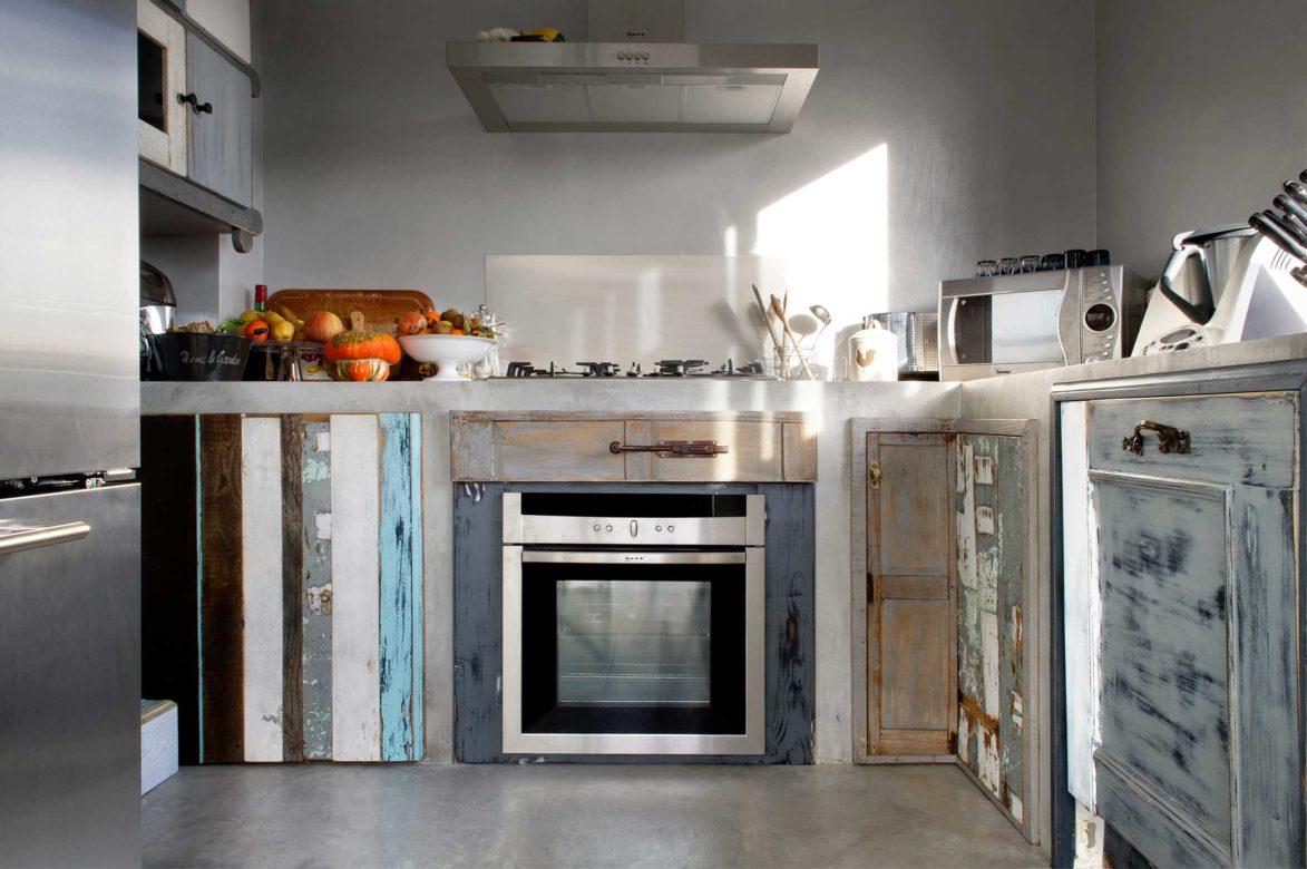 Cucina in muratura 2012