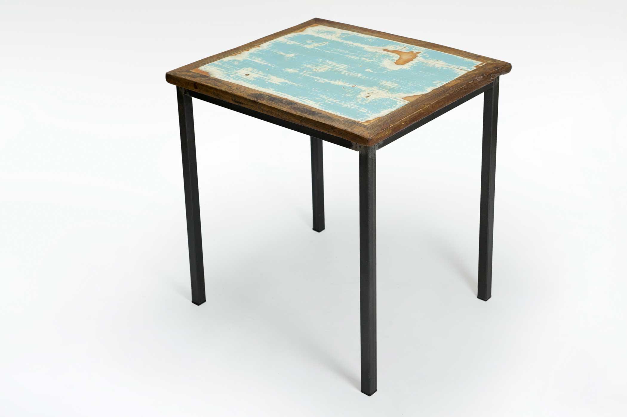 Tavolo Industriale Quadrato : Tavolo quadrato legno good tavolo legno quadrato bianco legno