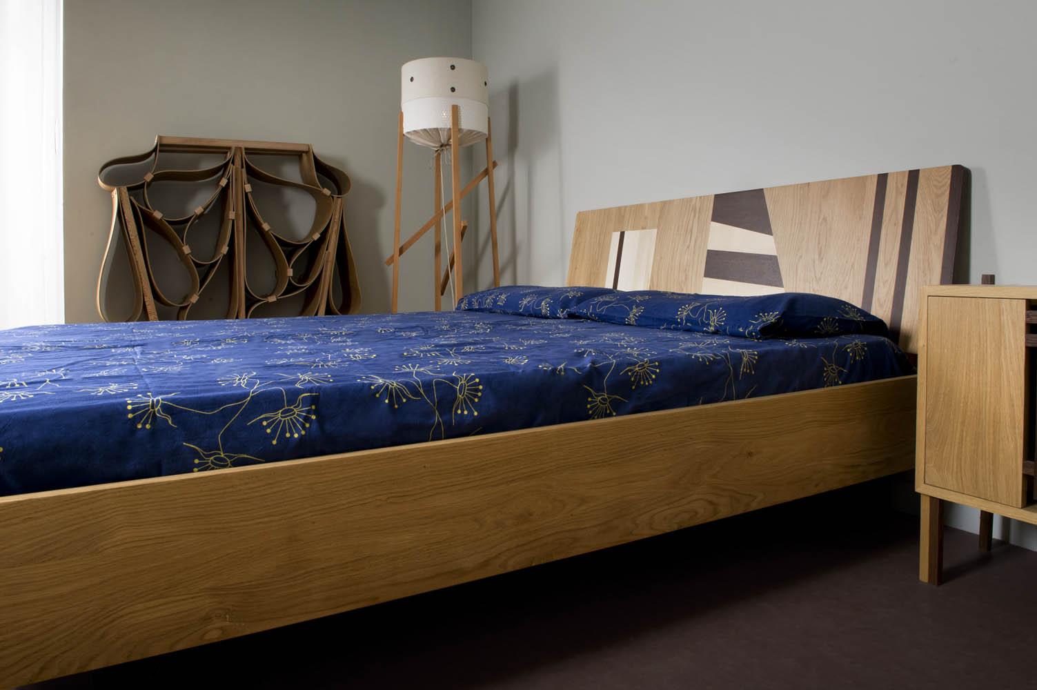 letti artigianali in legno