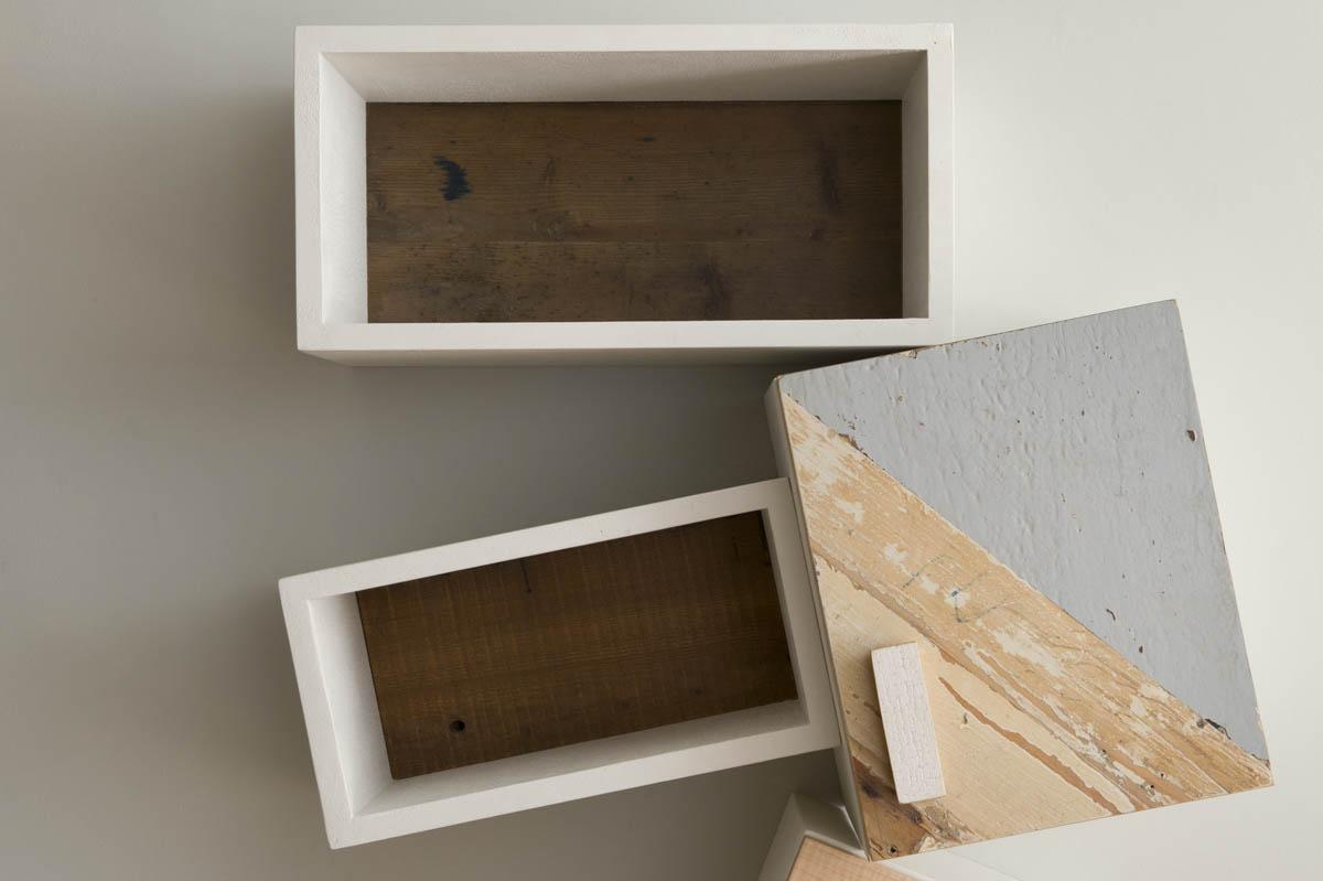 parete attrezzata legno e laccatura