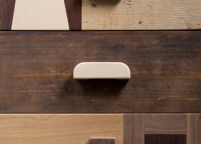 falegnameria di design contemporaneo mobili su misura legno recupero artigianalità