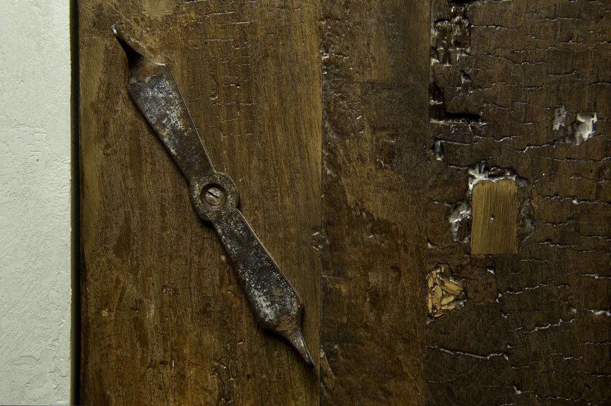 cucina su misur ain legno di recupero artigianale