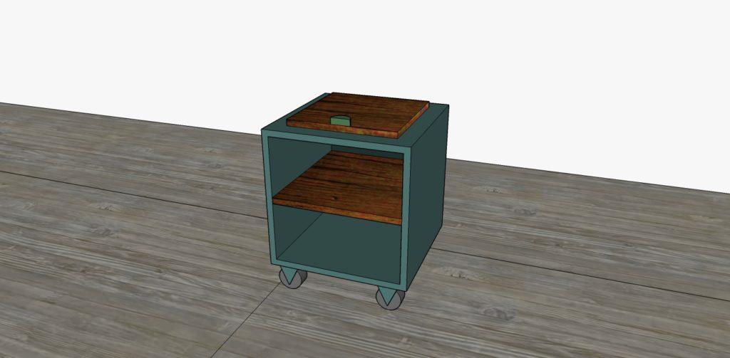 Progettazione 3D per mobili su misura artigianali di design