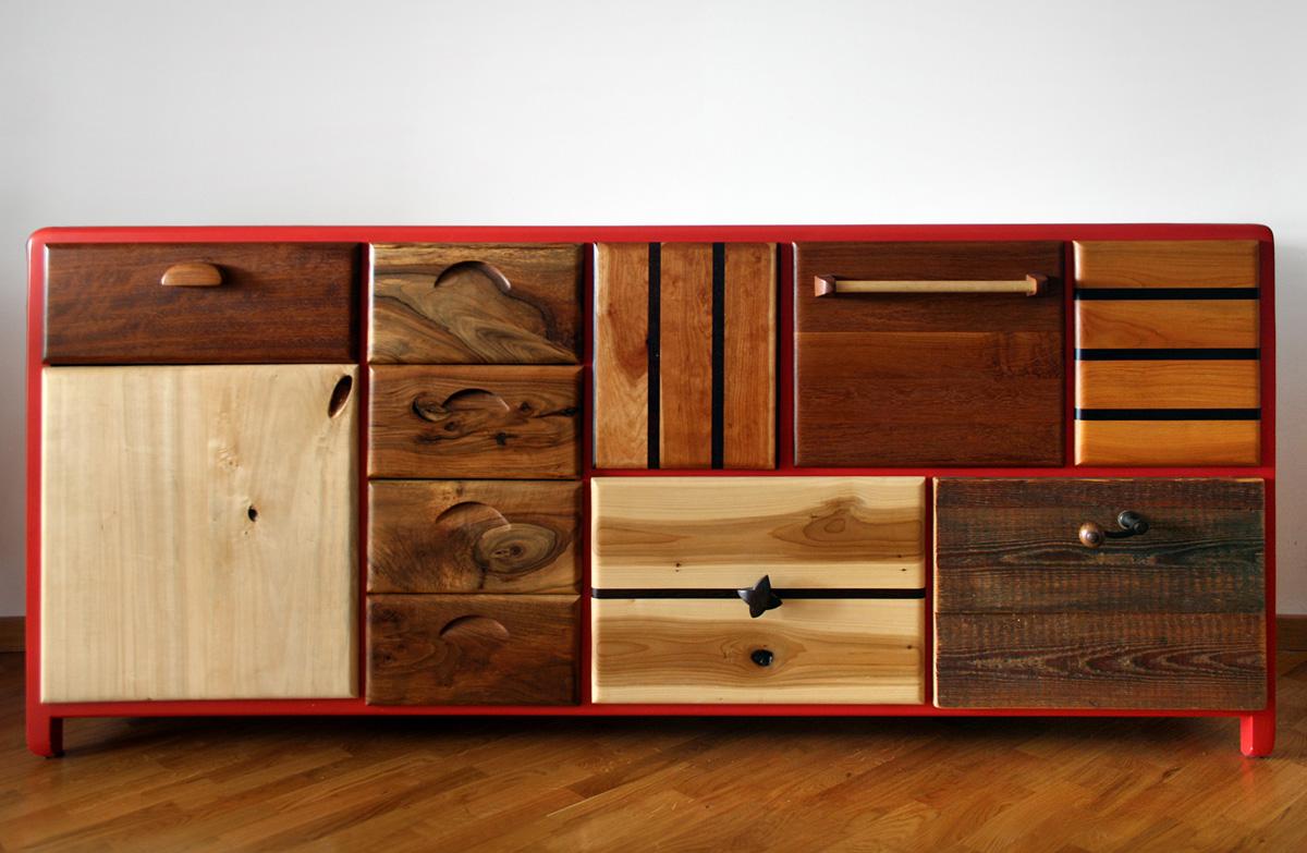 Credenza Per Esterno In Legno : Credenze in legno massello su misura laquercia21