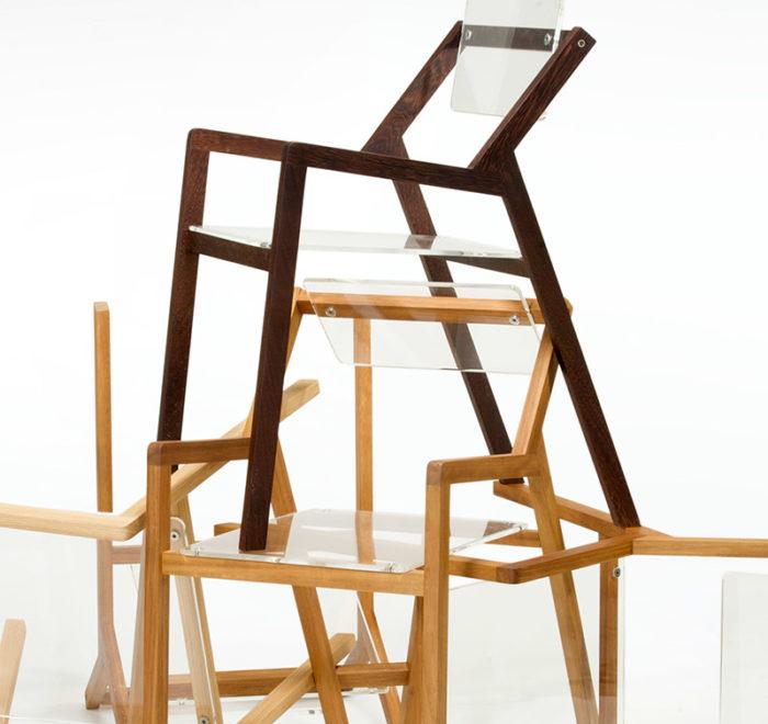 sedie design falegnameria contemporanea