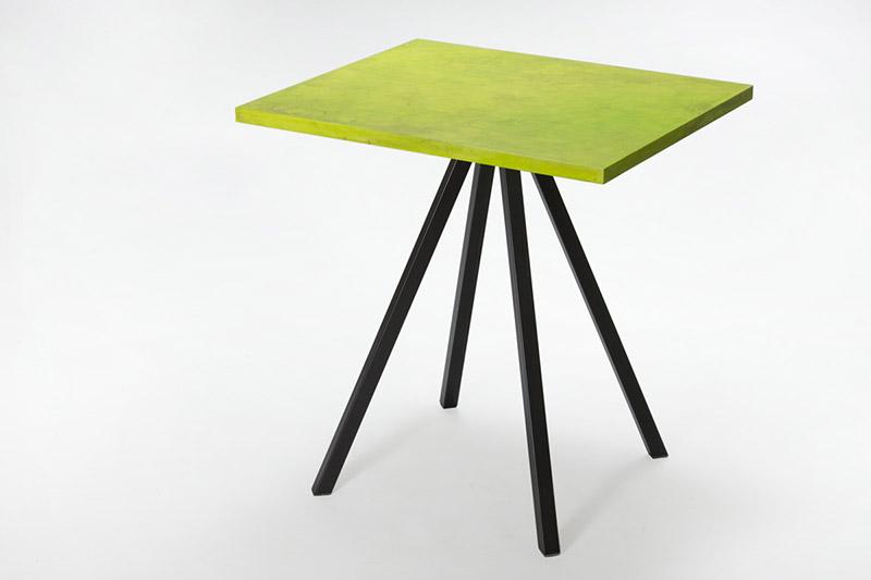 tavoli in resina polimerica