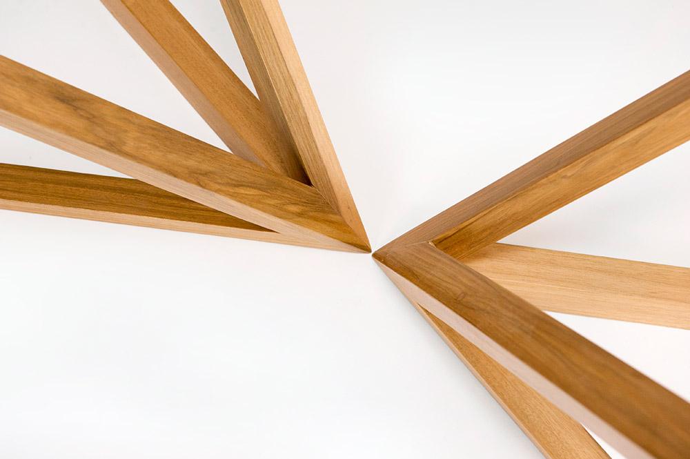 tavoli in vetro e legno