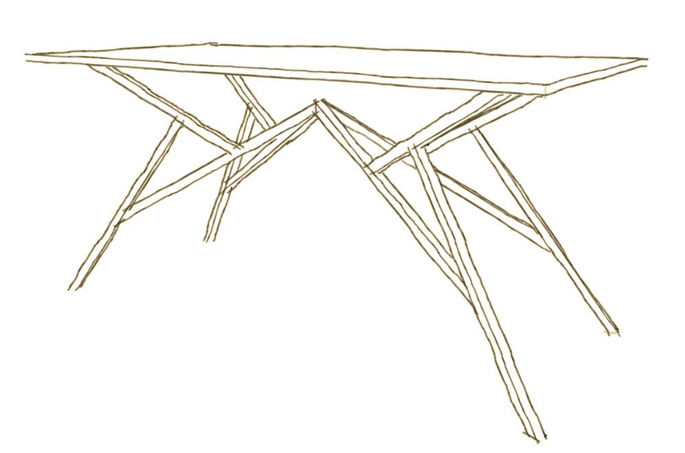 Falegnameria su misura per tavoli