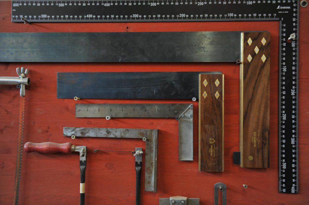 Gli strumenti del falegname