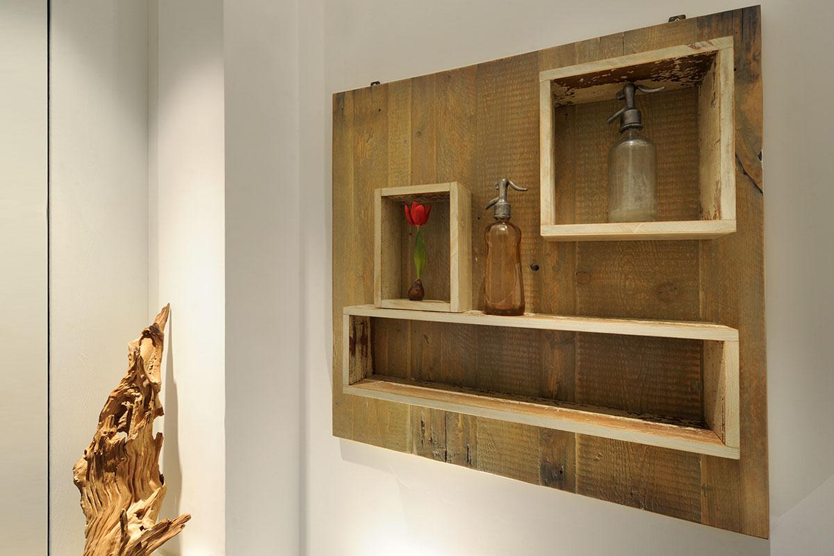 Boiserie copri quadro elettrico per la casa di design