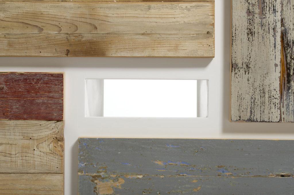 mobile tv artigianale in legno di recupero made in Italy
