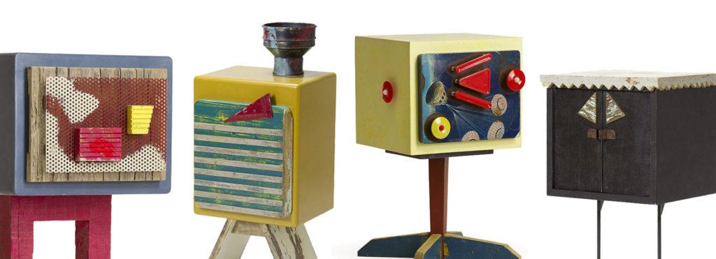 piccoli mobili comodini di desing artigianale Laquercia21