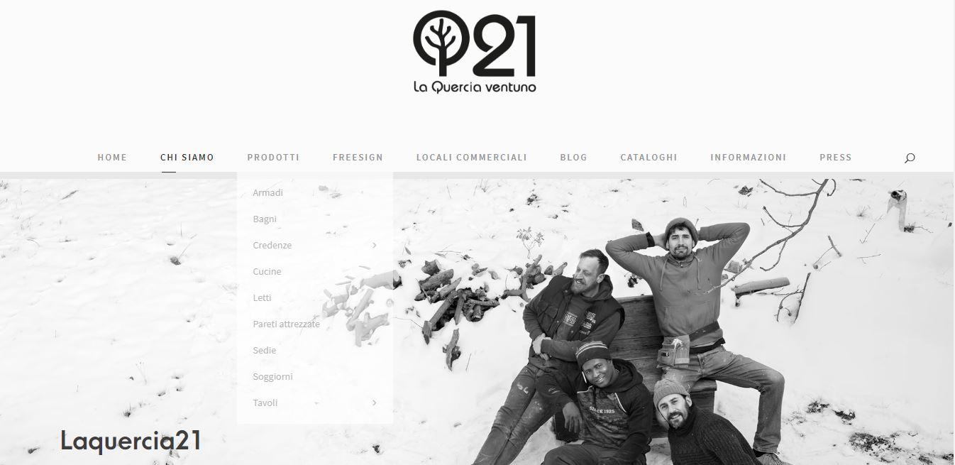 Nuova home de Laquerci21. Lanciato il nuovo sito online di design artigianale umbro