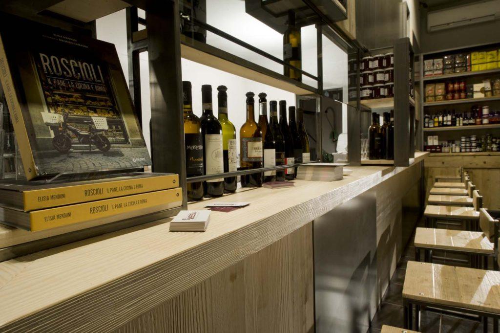 Bancone per bar e ristoranti fatto a mano su misura legno