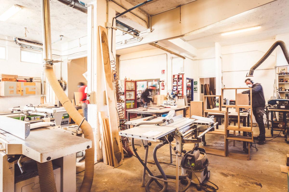 Falegnameria per arredi di design su progetto. Interior design contemporaneo