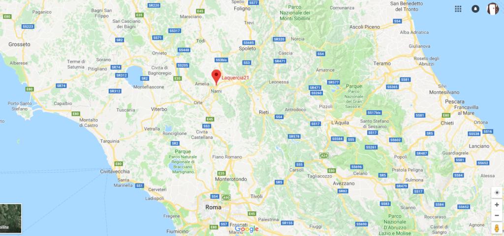 Falegnameria artigianale dove siamo, Narni,Umbria