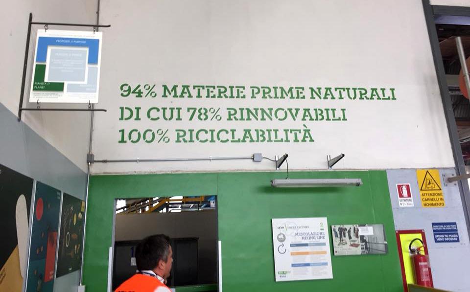 interno stabilimento tarkett narni ecosostenibile, ecologia