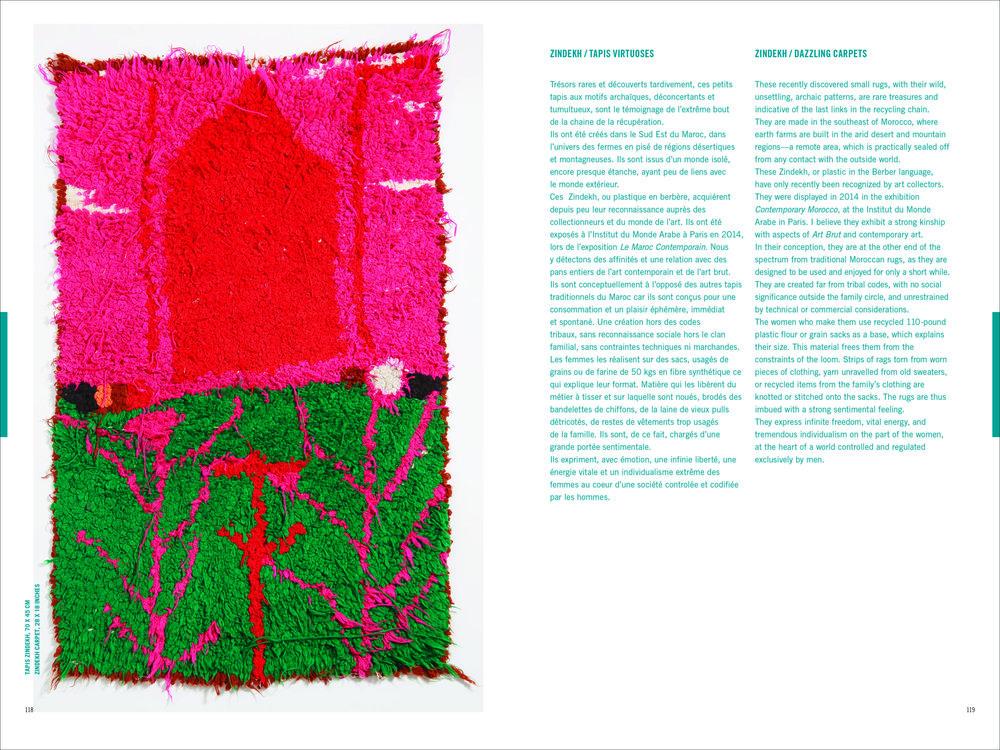 design marocchino tappeti tapis Françoise Dorget