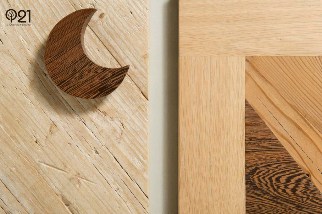 ante per mobili in legno massello e recupero e luna