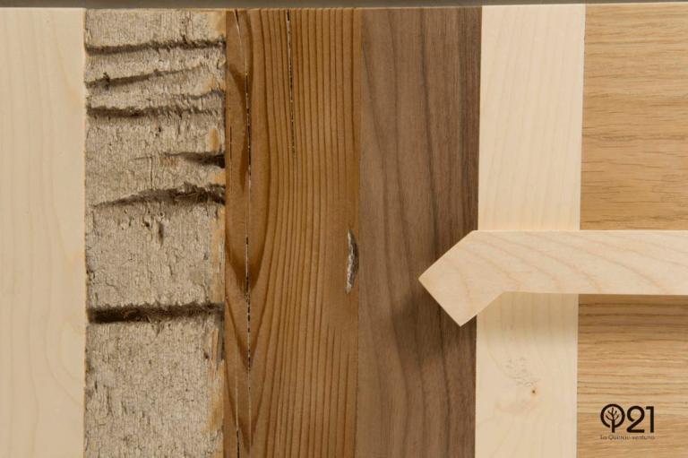 materiali vintage legno di recupero venature