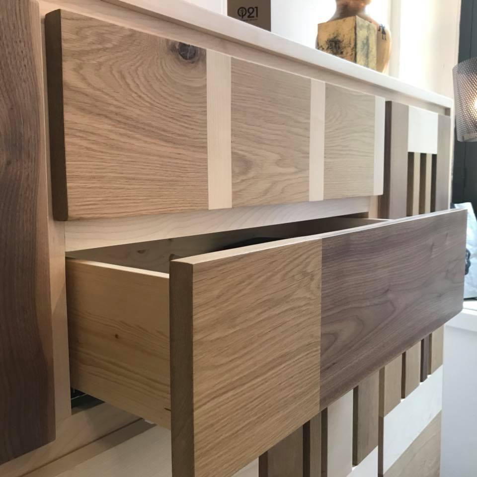 cassettiera legno massello varie essenze