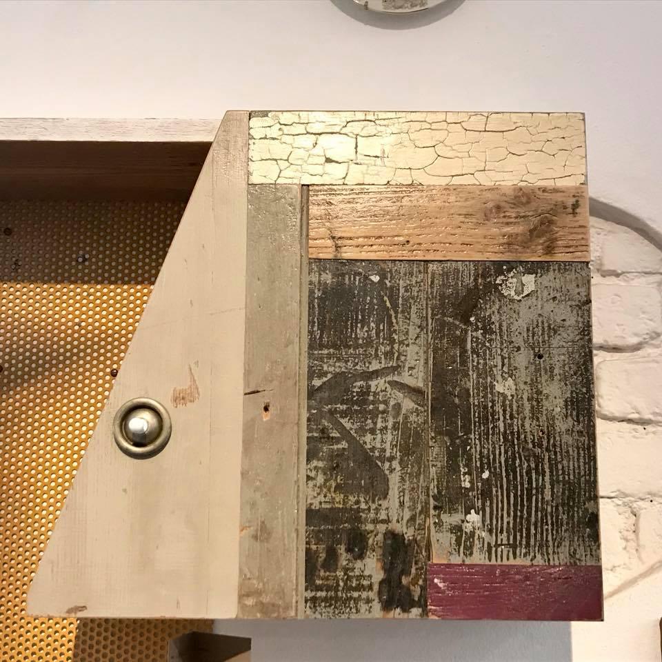 oggetti vintage ferro e legno scrap