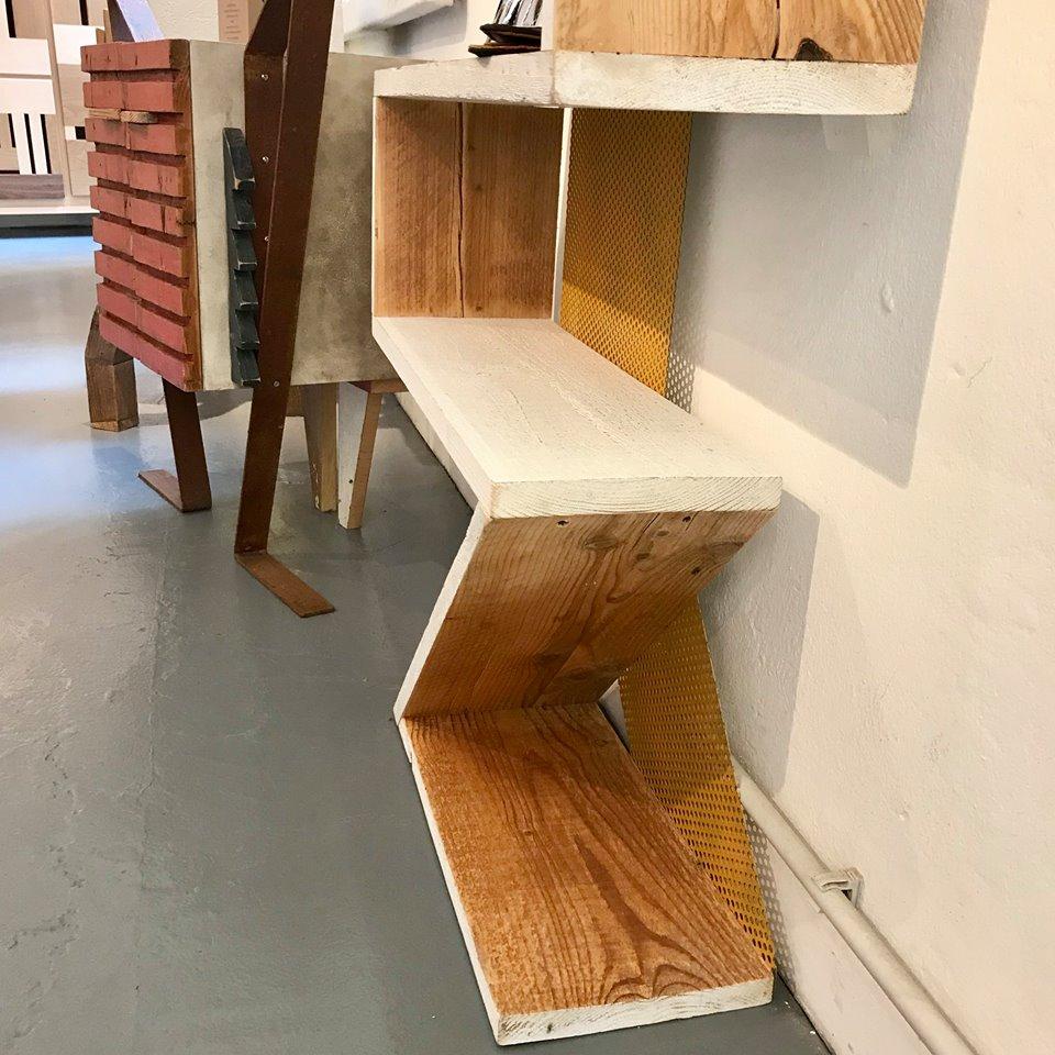libreria assi legno costruzione