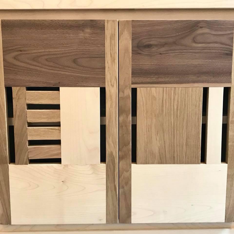 mobile legno massello soggiorno