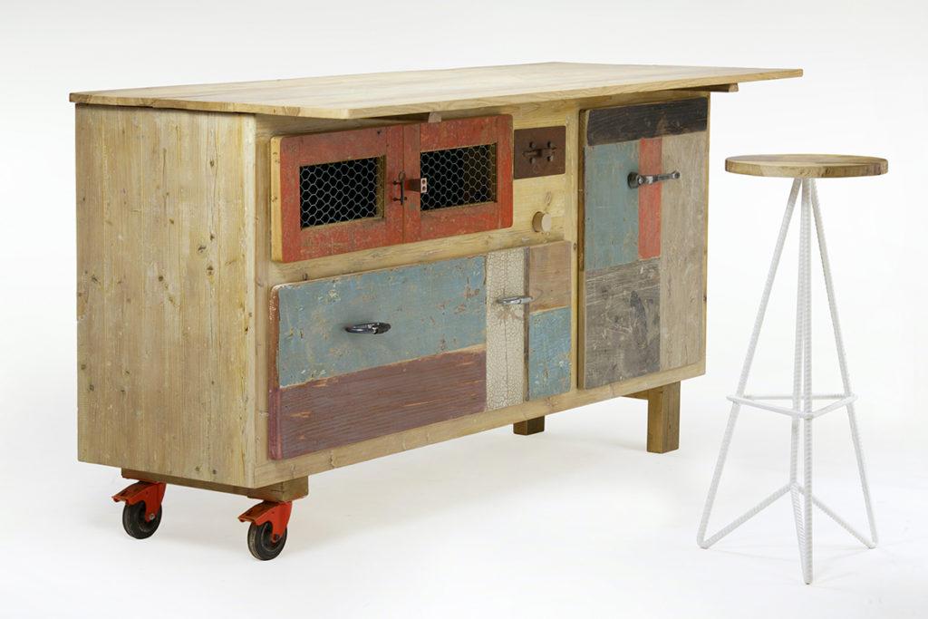 Credenza Cucina Con Cassetti : Credenze da cucina: legno moderne industrial laquercia21