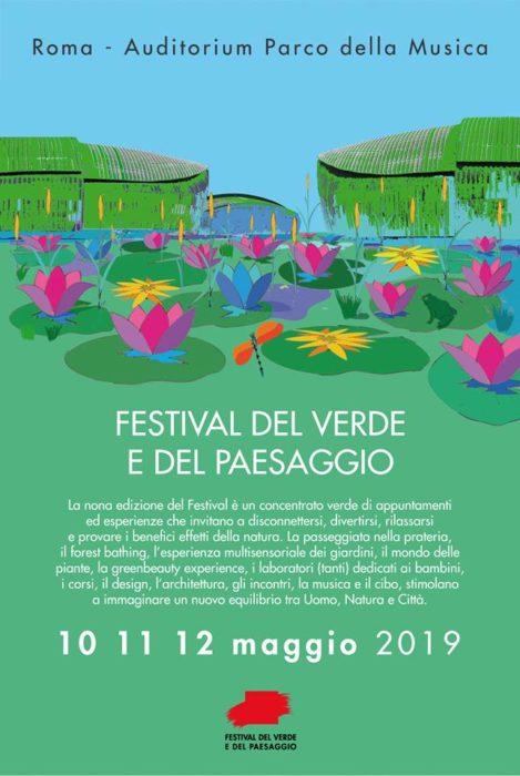 locandina programma festival del verde e del paesaggio 2019