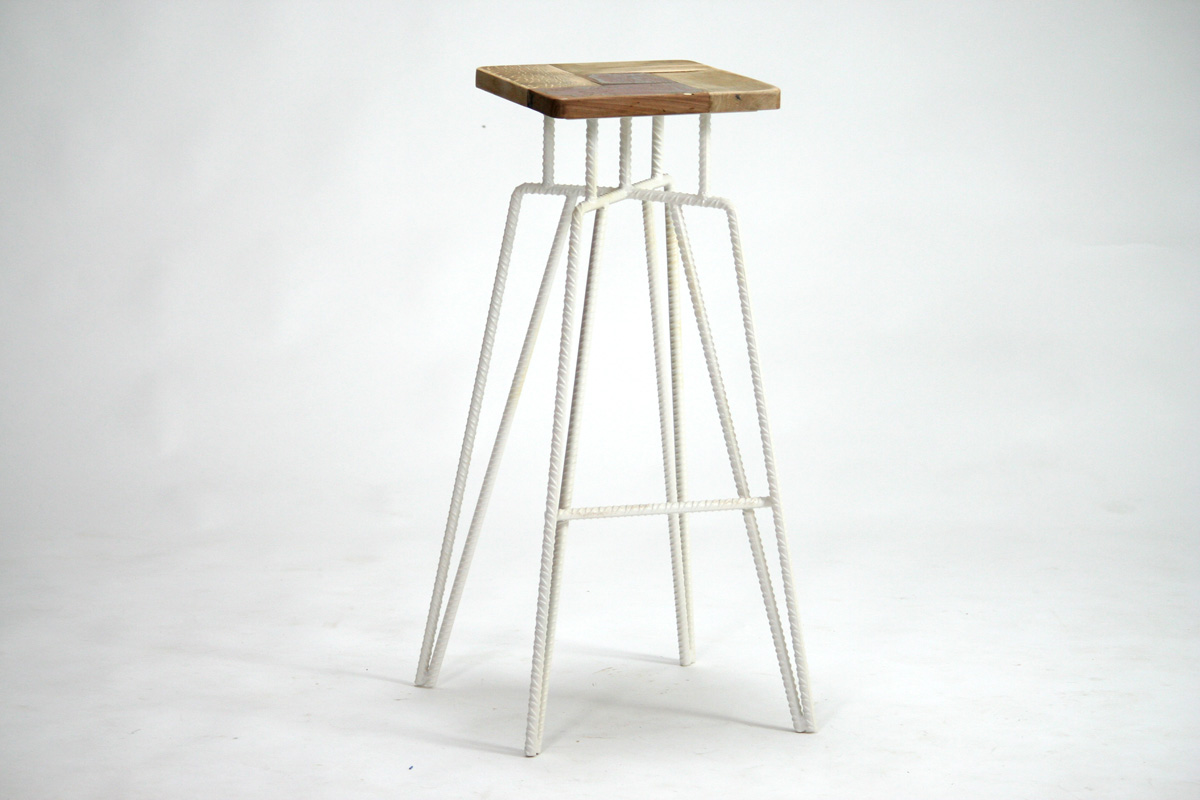 Sgabelli da bar o da cucina in legno e ferro laquercia21