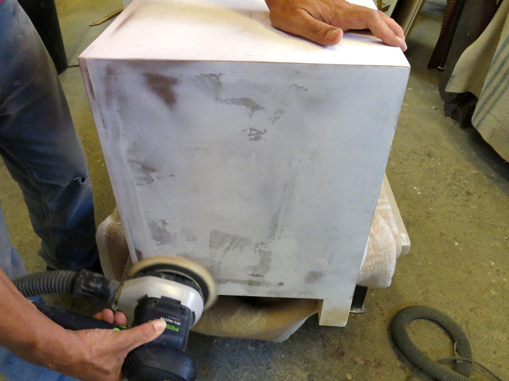 carteggiatura mobili artigianali a mano laquercia21