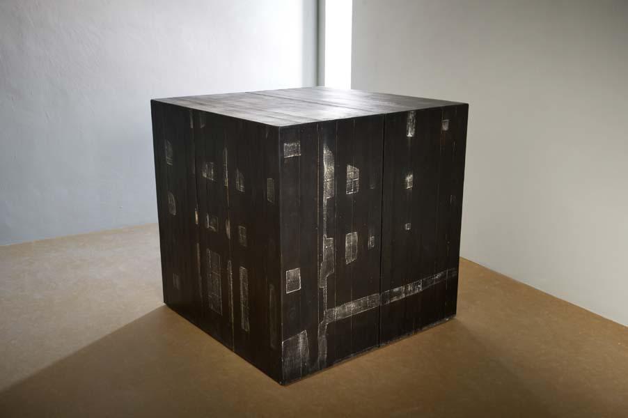 cubo linoleum e plexiglass Laquercia21 Meri Tancredi