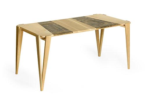 tavolo soggiorno legno massello e legno vintage laquercia21