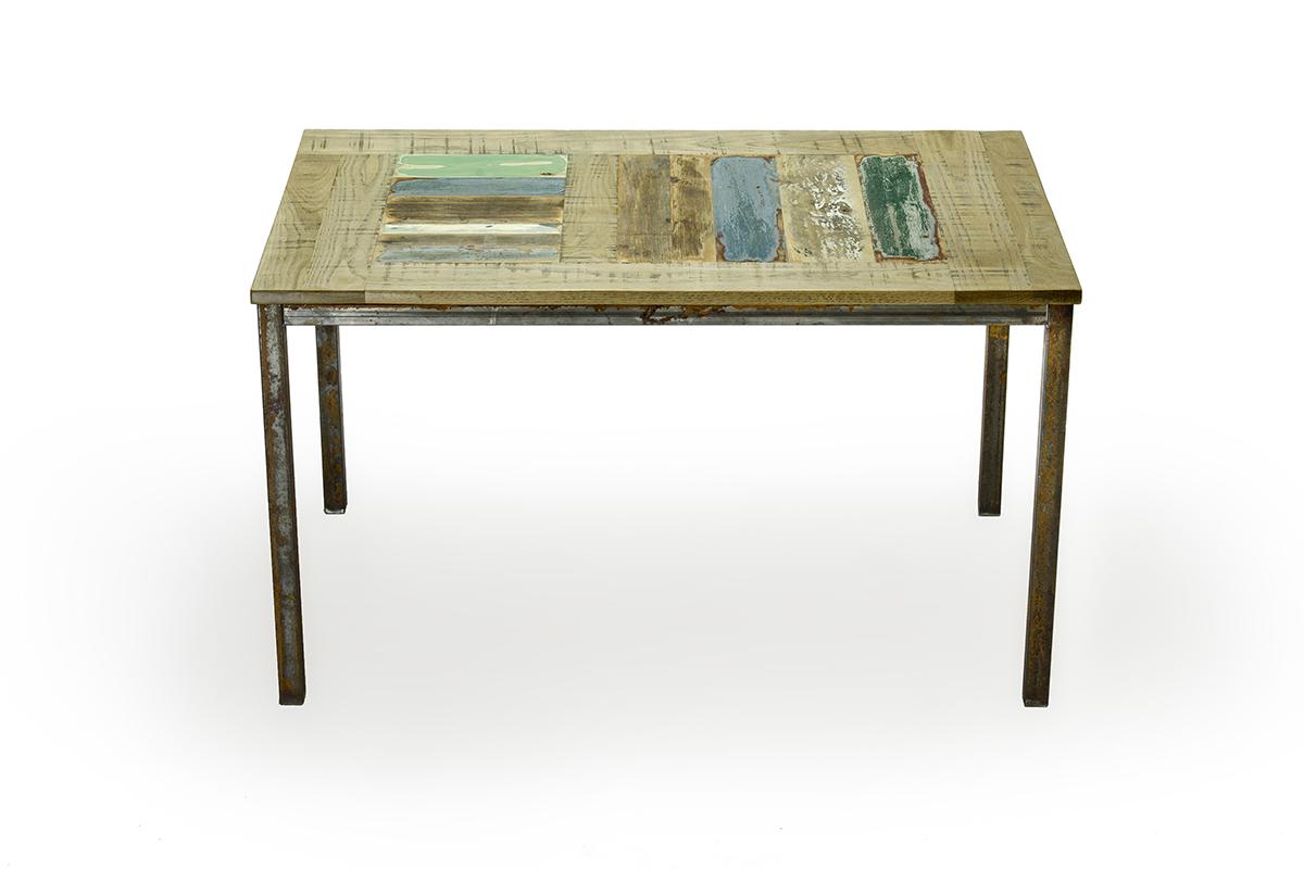 tavoli ferro e legno