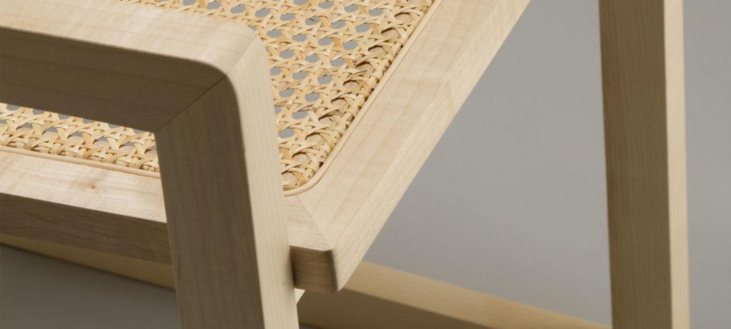 Sedia-Q design legno massello