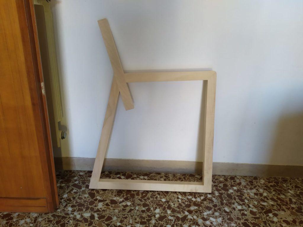 prototipo sedia laquercia21 legno acero