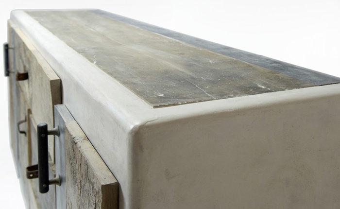 mobili in resina credenza artica