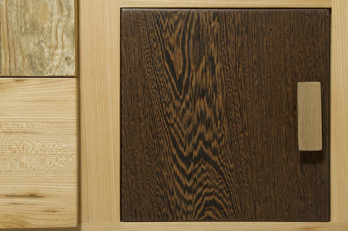 Credenza legno massello Olmo
